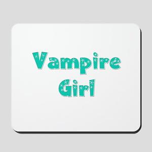 Twilight ~ Vampire Girl [GREEN] Mousepad